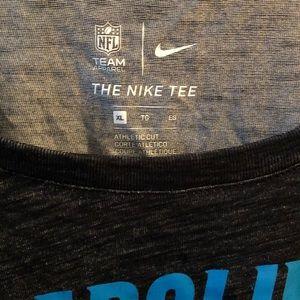 Carolina Panthers Nike Dri-fit long sleeve Tee.